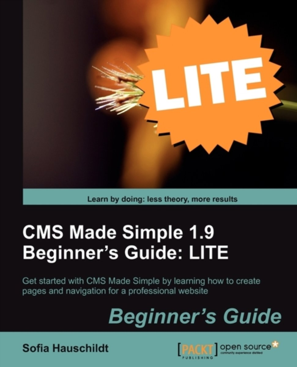 CMS Made Simple 1.9 Beginner's Guide