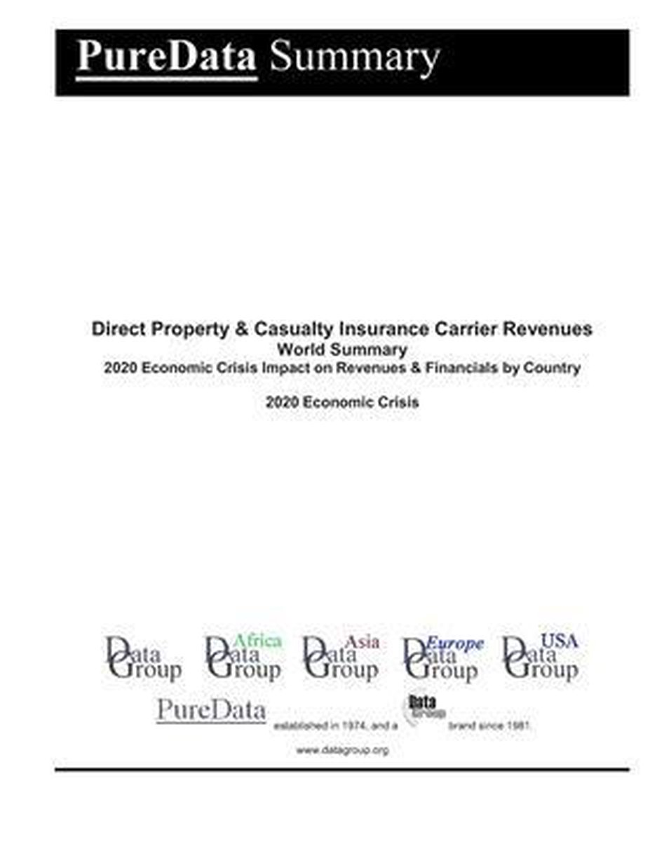 Direct Property & Casualty Insurance Carrier Revenues World Summary