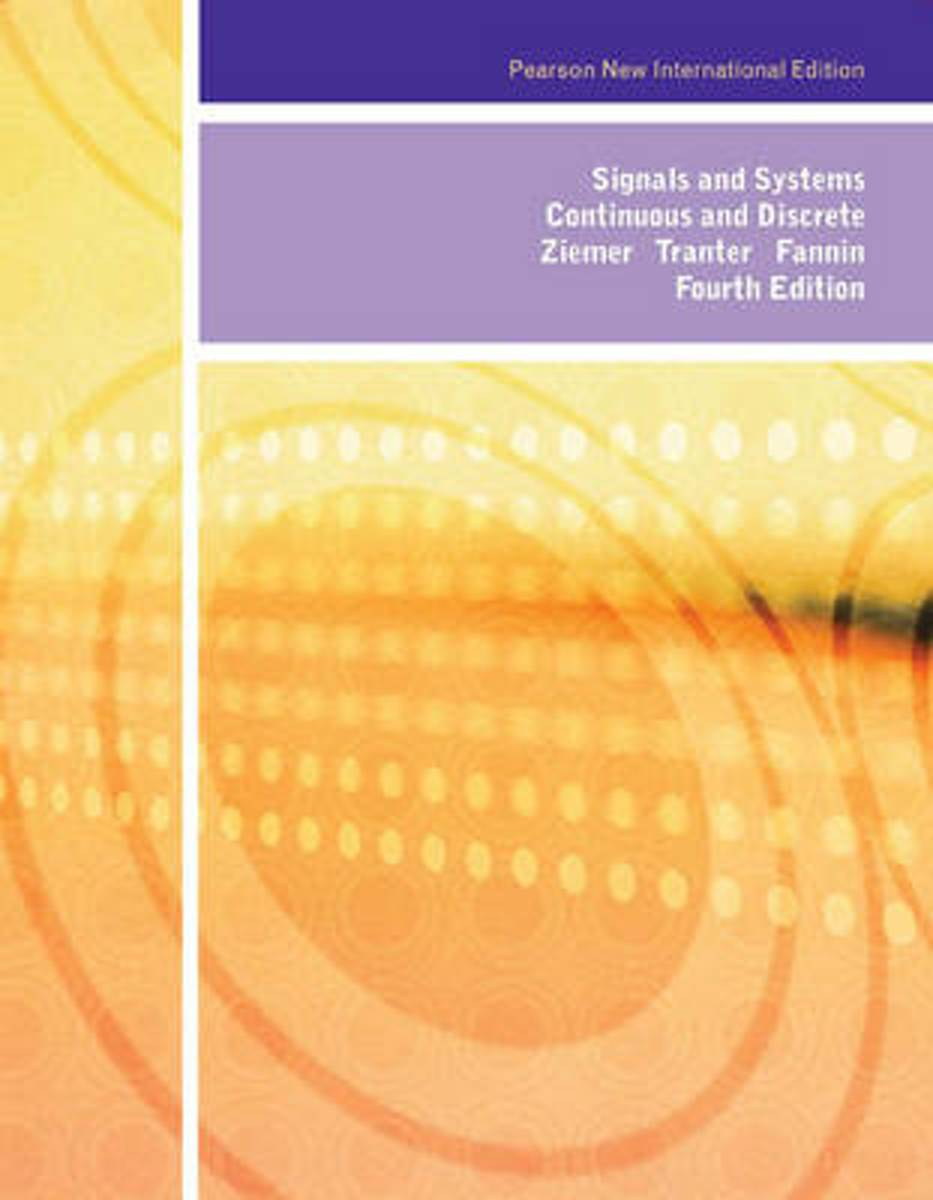 Signals and Systems: Pearson  International Edition