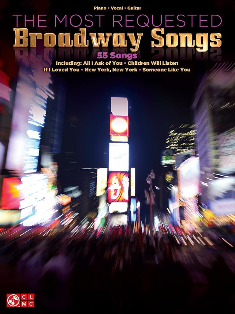 The Most Requested Broadway Songs (Songbook)