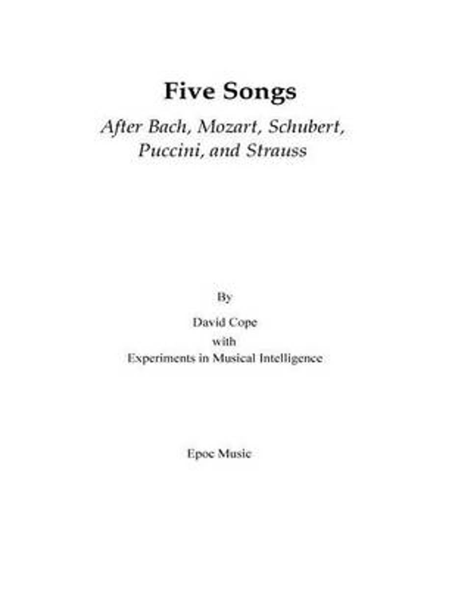 Five Songs After Bach, Mozart, Schubert, Puccini, and Strauss
