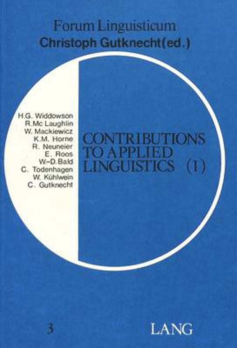 Contributions to Applied Linguistics