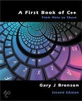 First Book Of C++