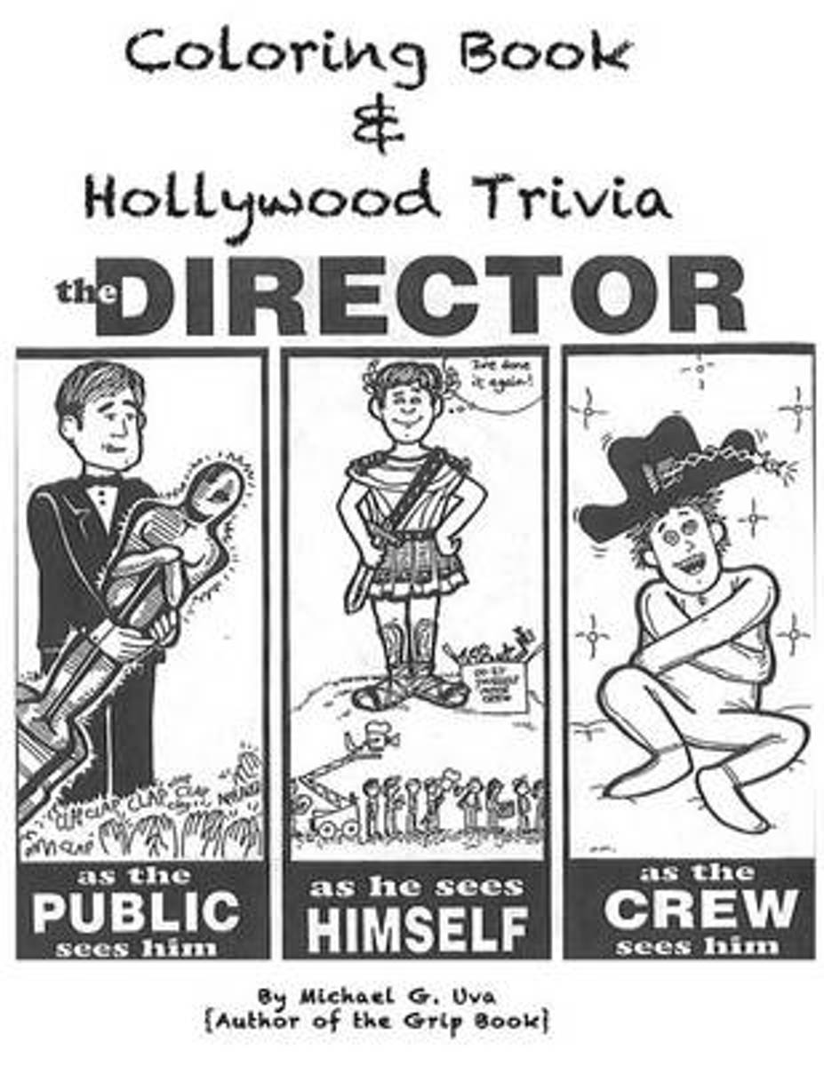 Coloring Book & Hollywood Trivia