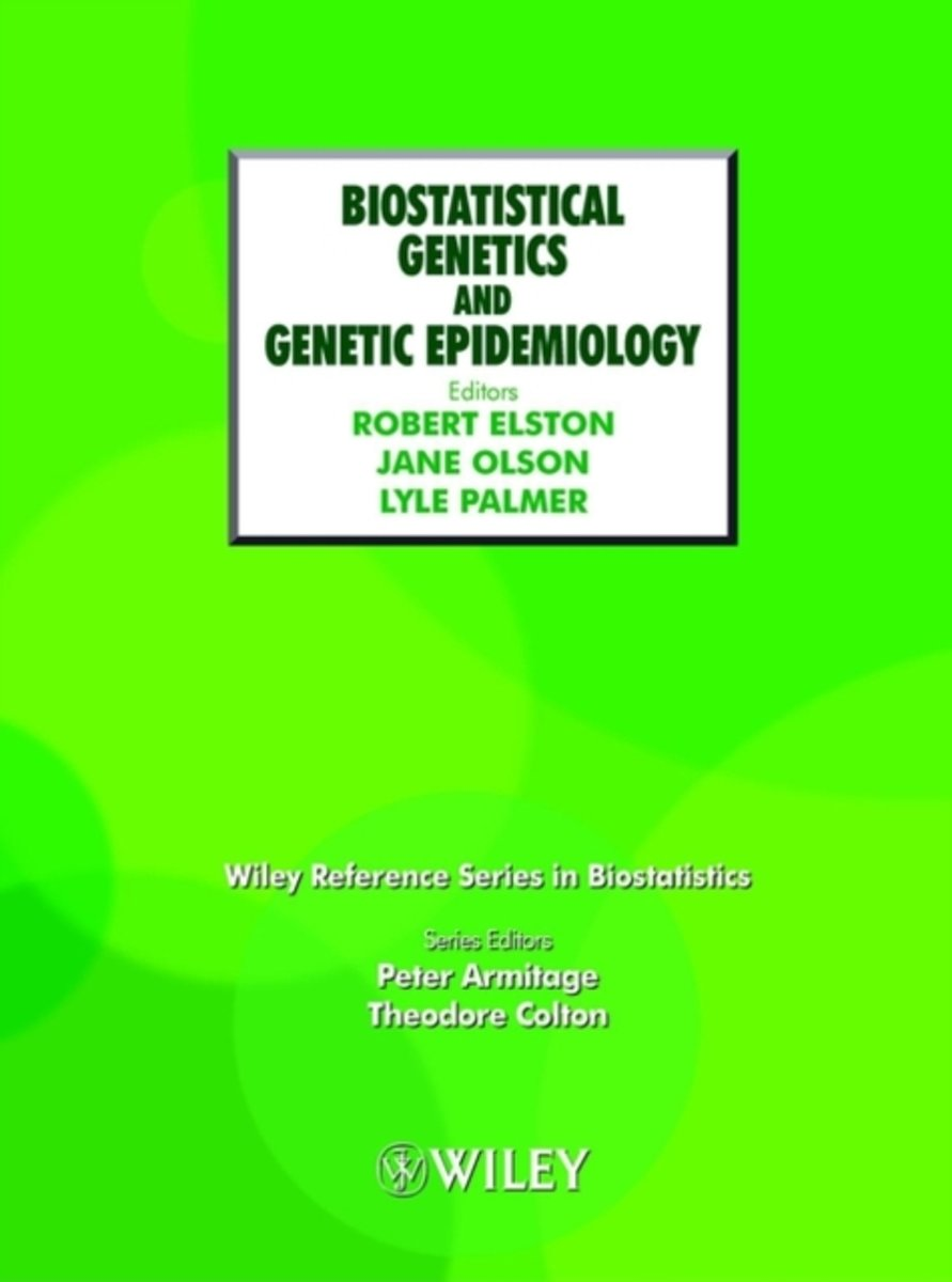 Biostatistical Genetics and Genetic Epidemiology