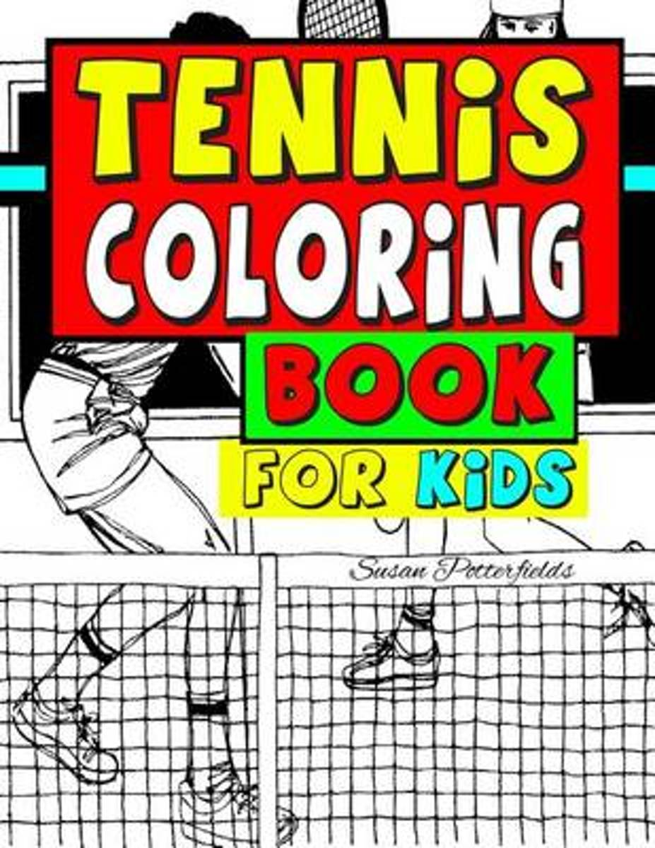 Tennis Coloring Book for Kids