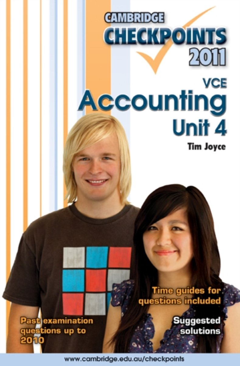 Cambridge Checkpoints VCE Accounting Unit 4 2011