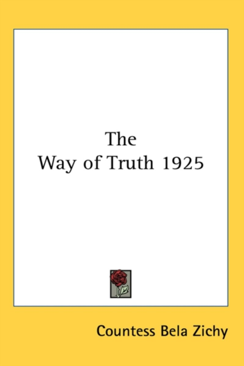 The Way of Truth 1925