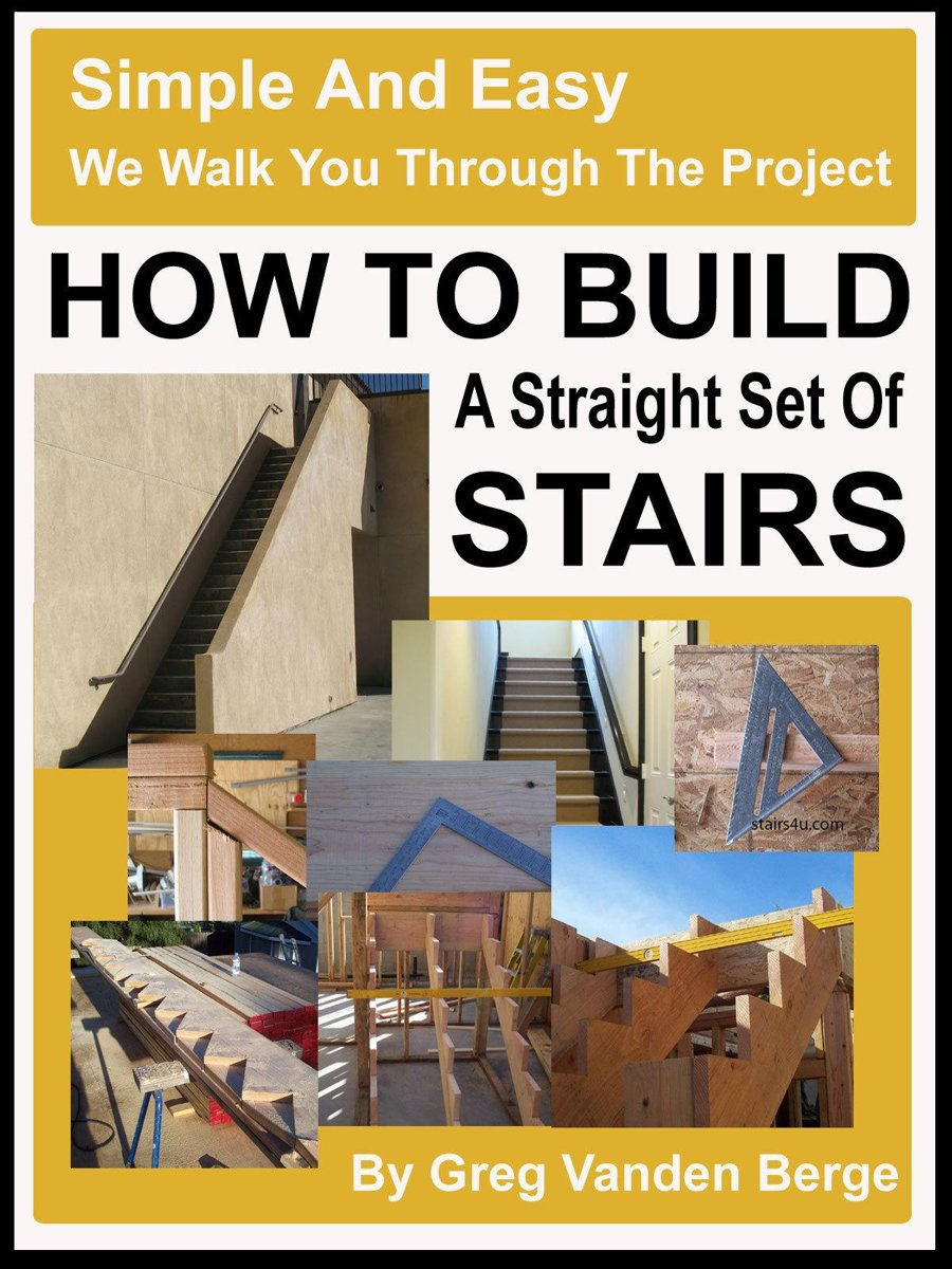 How To Build Straight Stairs