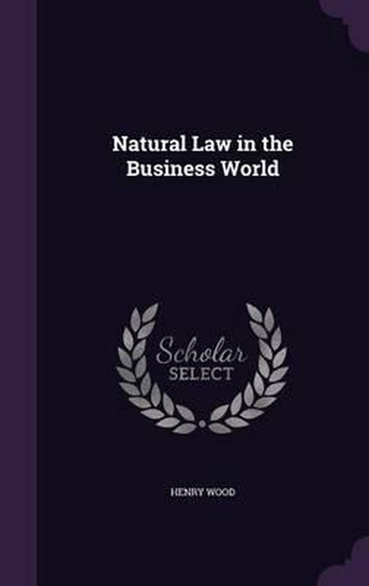Natural Law in the Business World