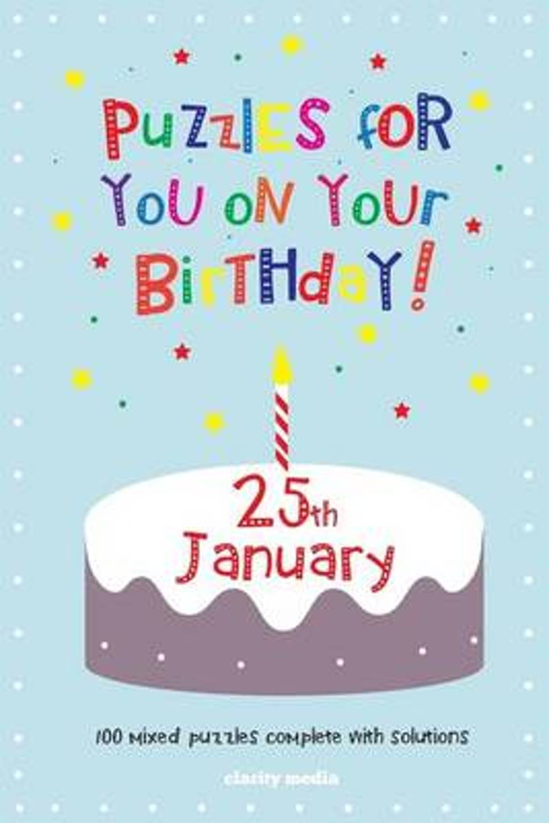 Puzzles for You on Your Birthday - 25th January