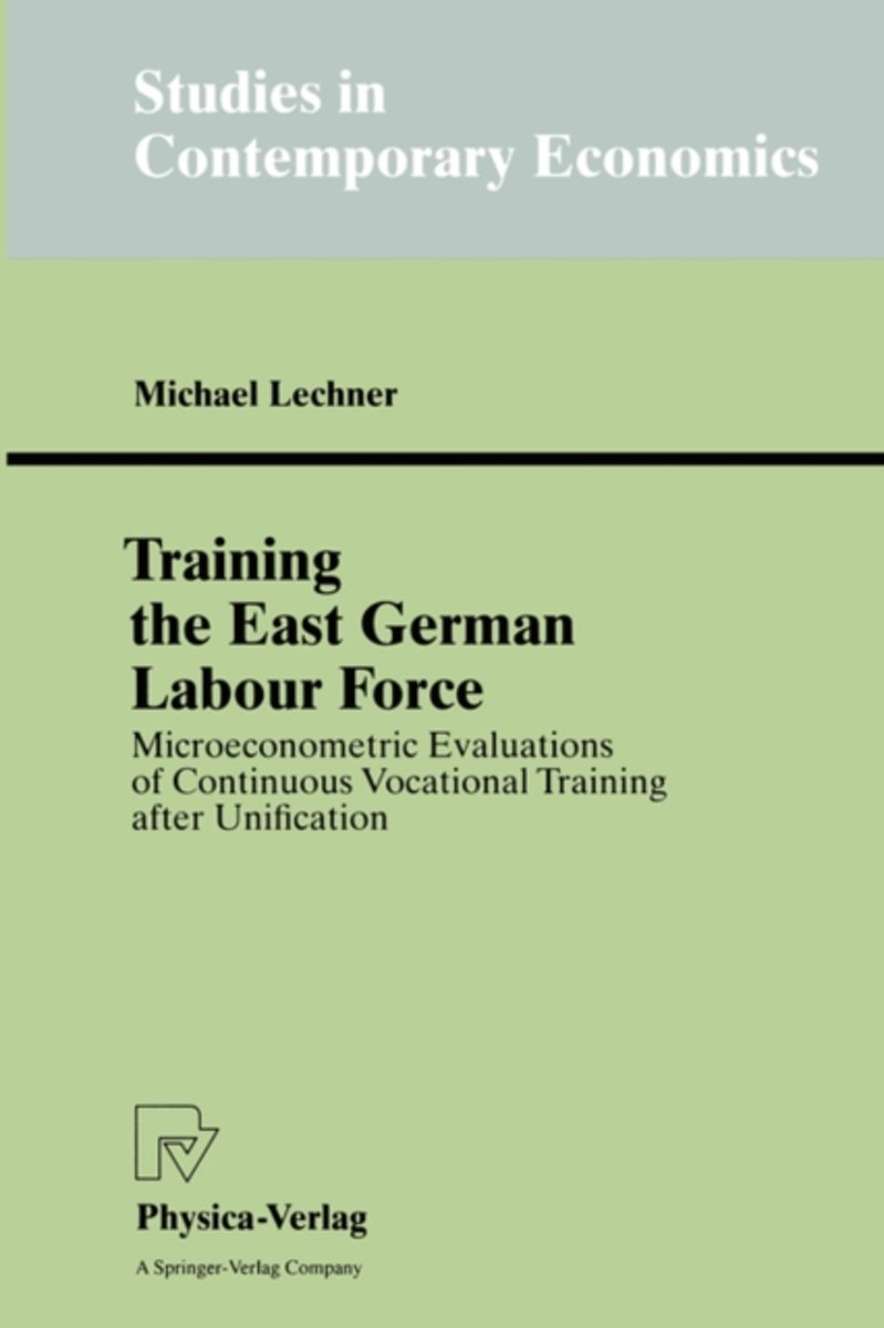 Training the East German Labour Force