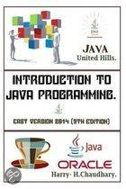 Introduction to Java Programming,: Easy Version. 2014.