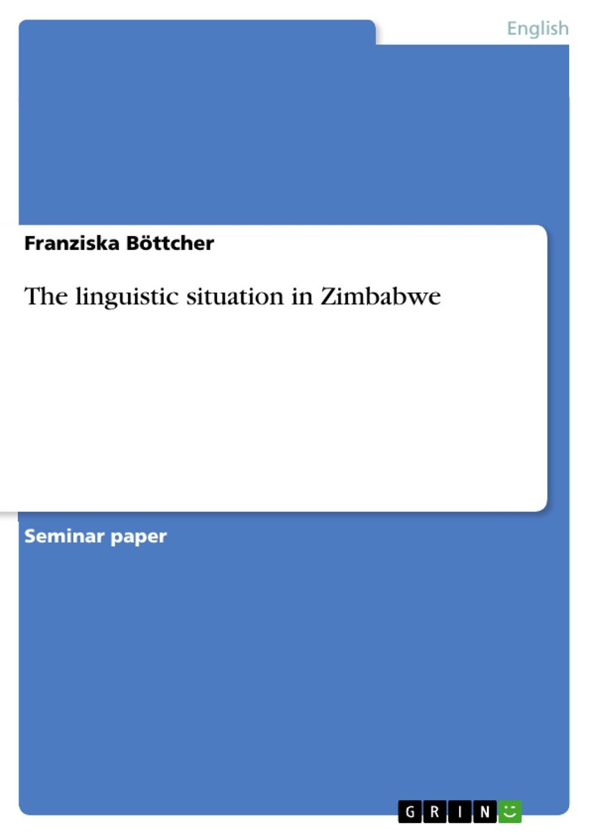 The linguistic situation in Zimbabwe