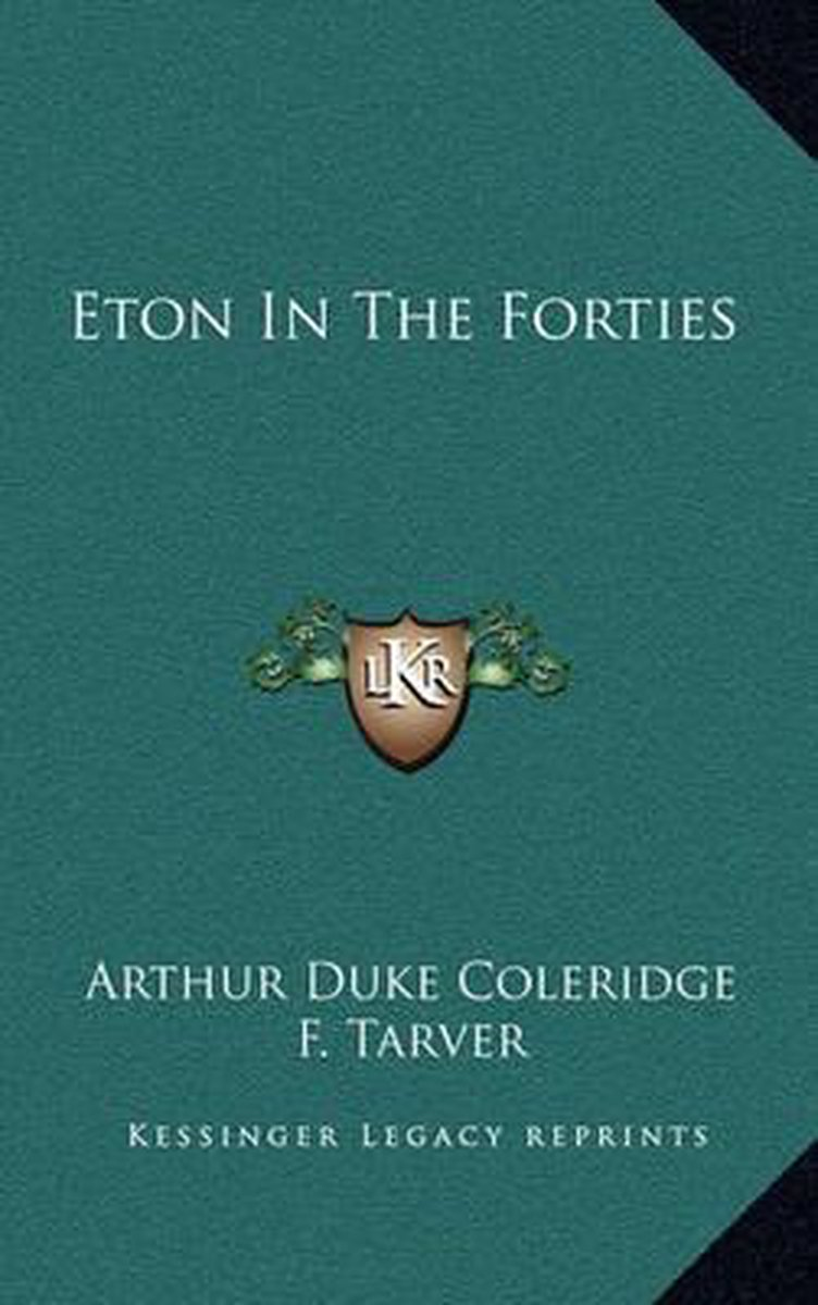 Eton in the Forties