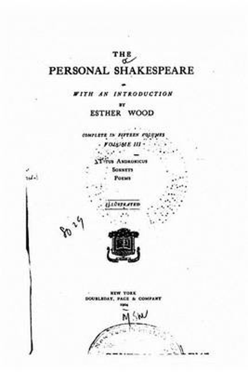 The Personal Shakespeare - Vol. III