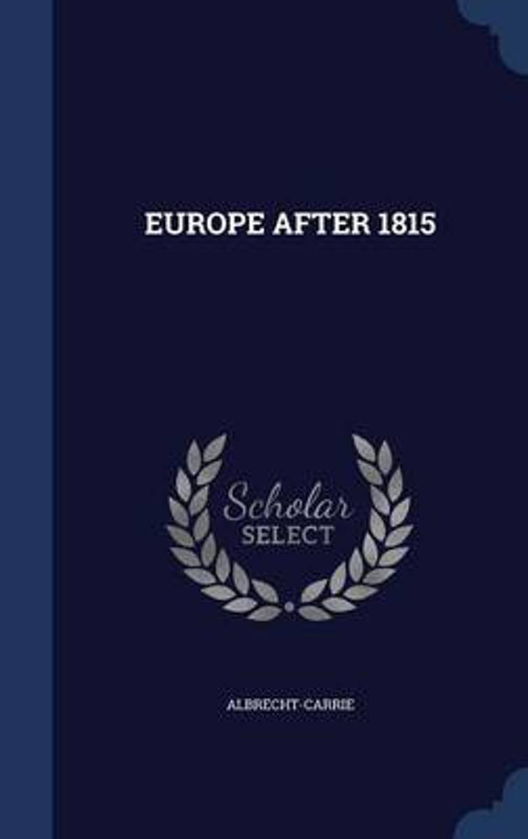 Europe After 1815