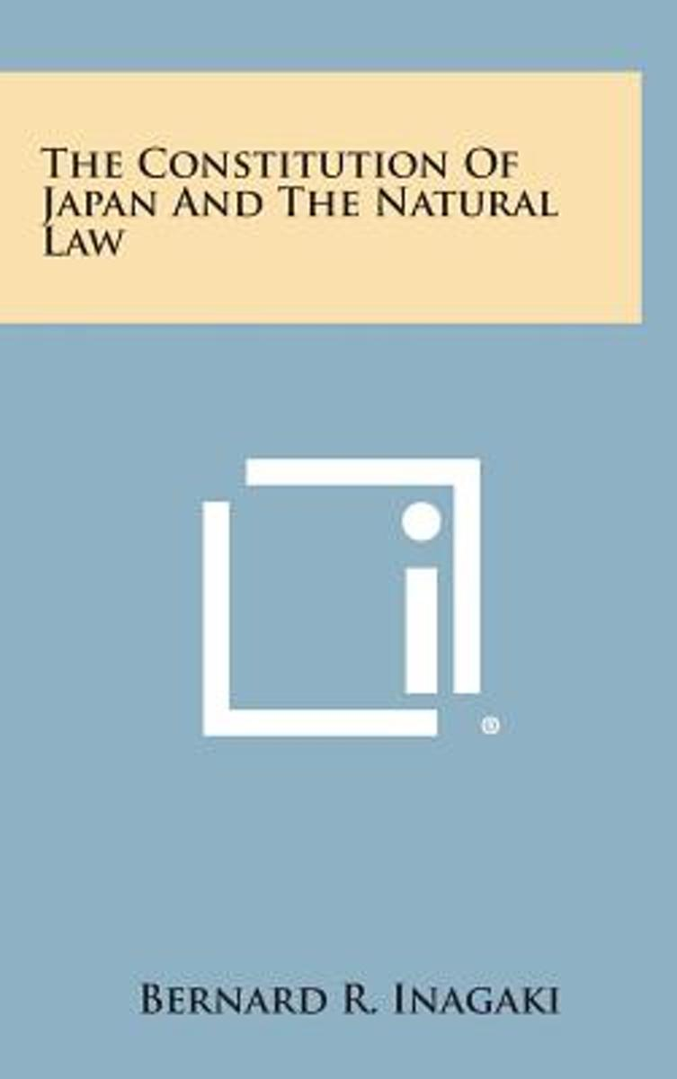 The Constitution of Japan and the Natural Law