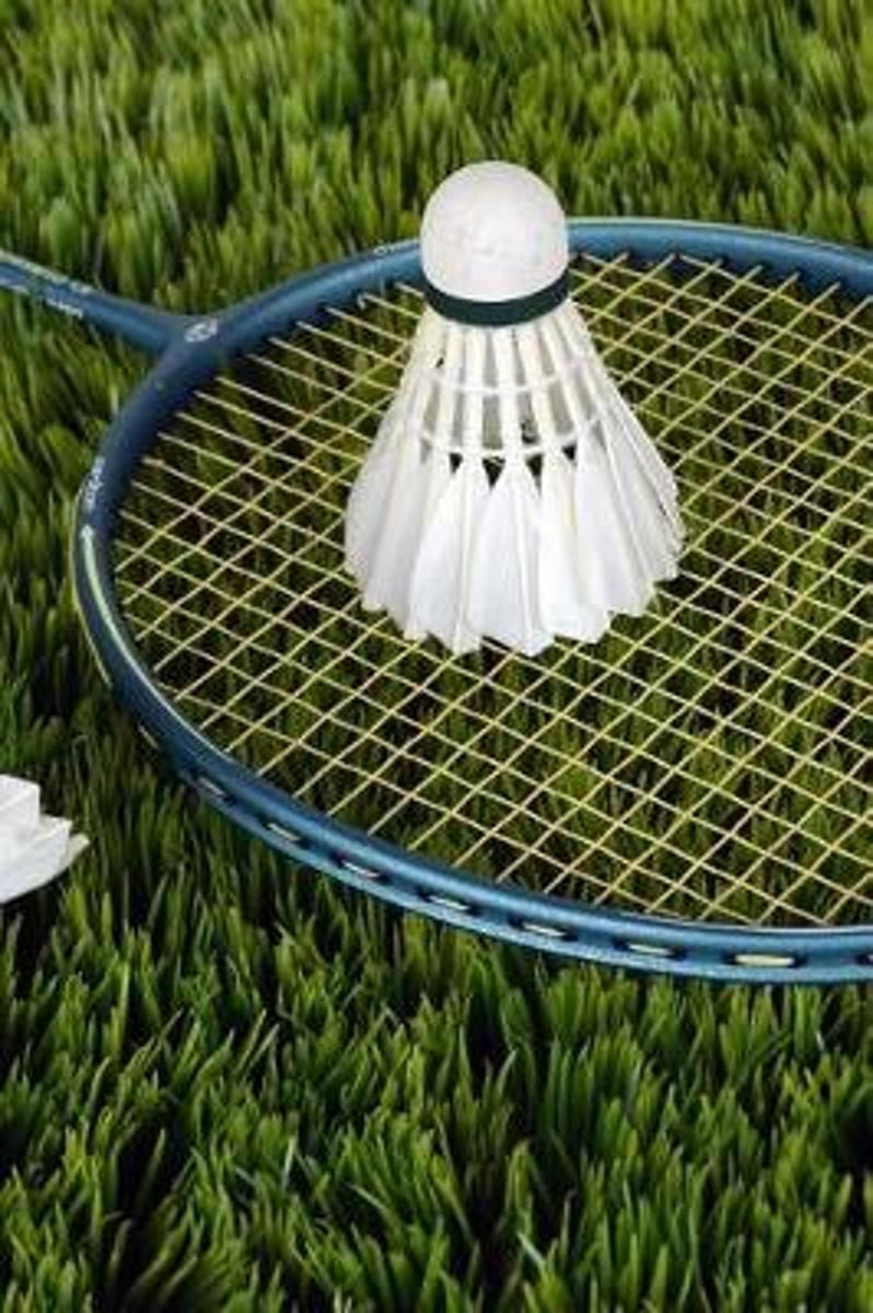 A Badminton Racquet and Shuttle Sports and Leisure Journal