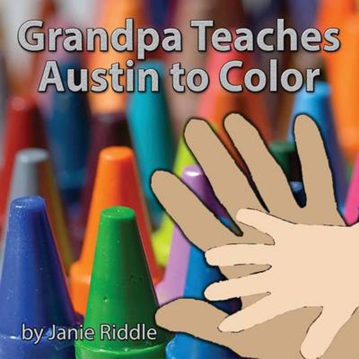 Grandpa Teaches Austin to Color