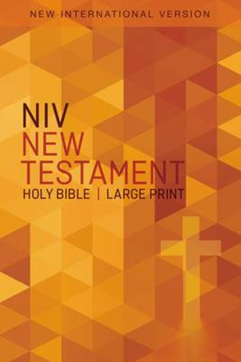 NIV, Outreach New Testament, Large Print, Paperback