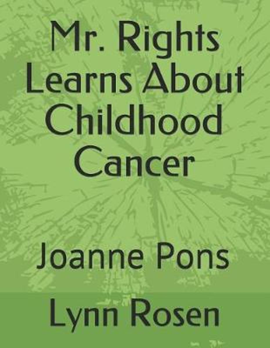 Mr. Rights Learns about Childhood Cancer