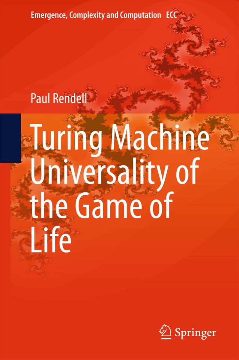 Turing Machine Universality of the Game of Life