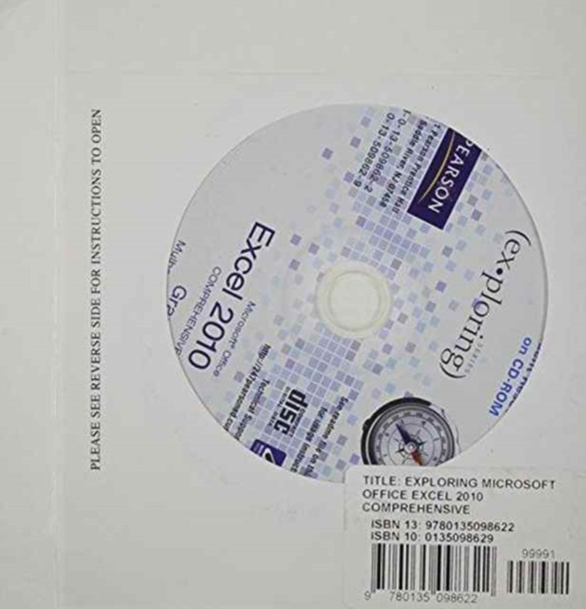 Student CD for Exploring Microsoft Office Excel 2010 Comprehensive