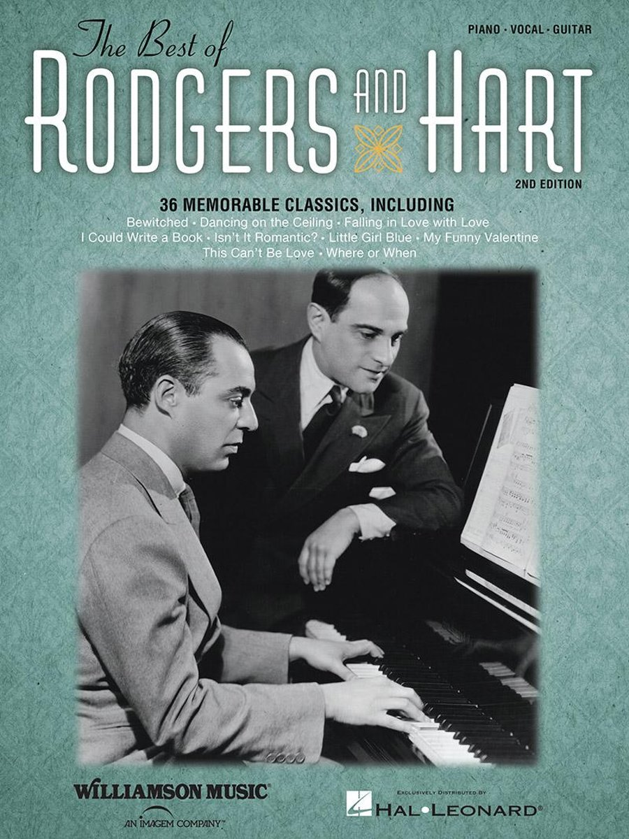 The Best of Rodgers & Hart (Songbook) image