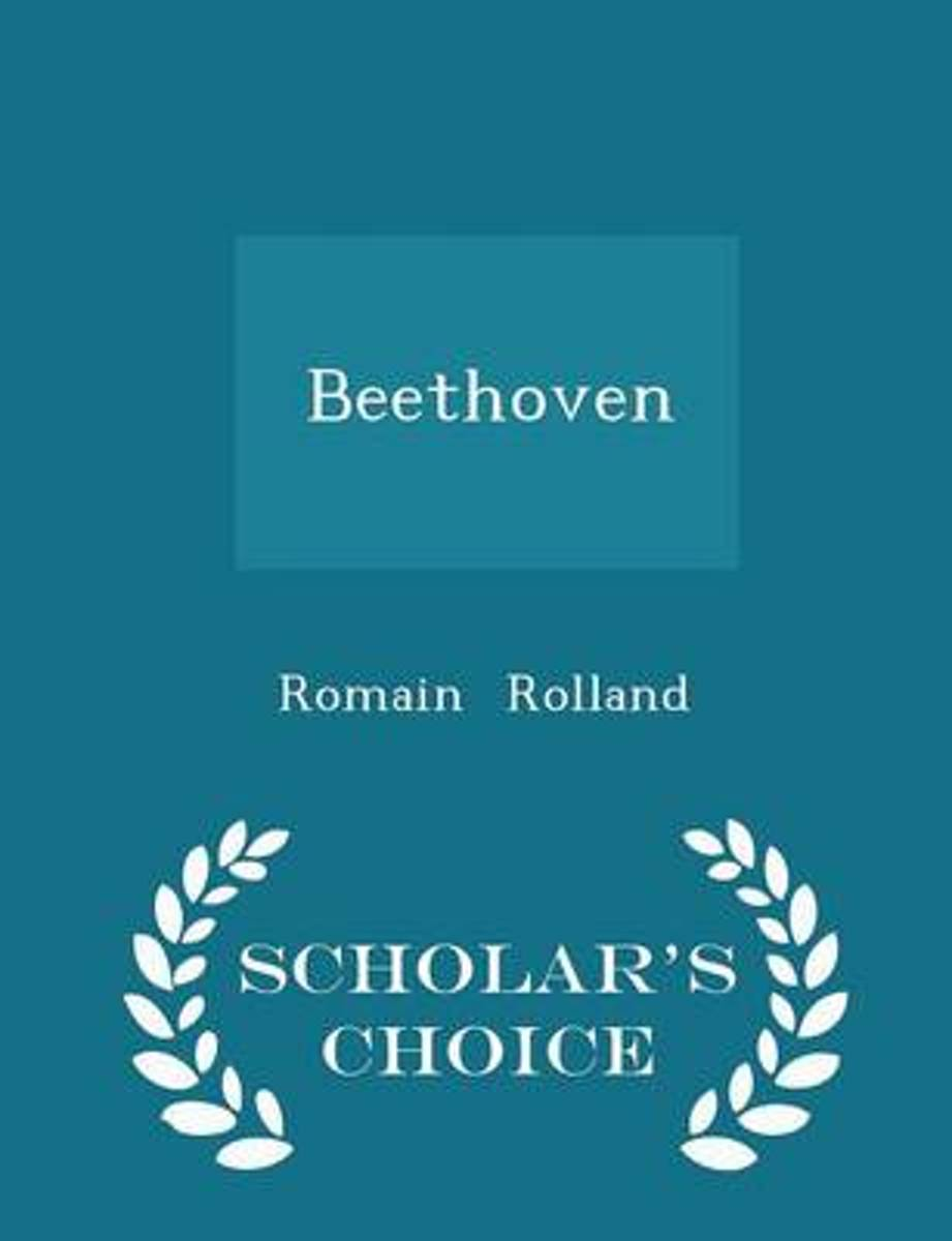 Beethoven - Scholar's Choice Edition