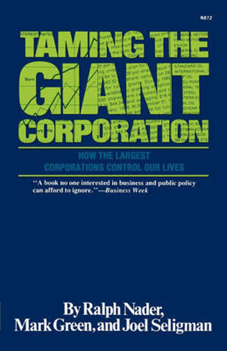 Taming the Giant Corporation