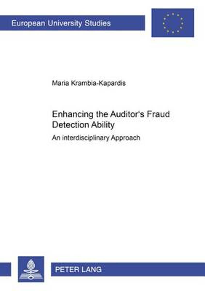 Enhancing the Auditor's Fraud Detection Ability