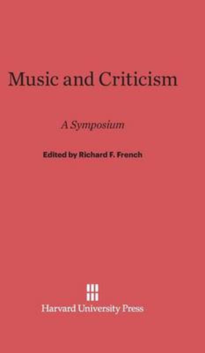 Music and Criticism