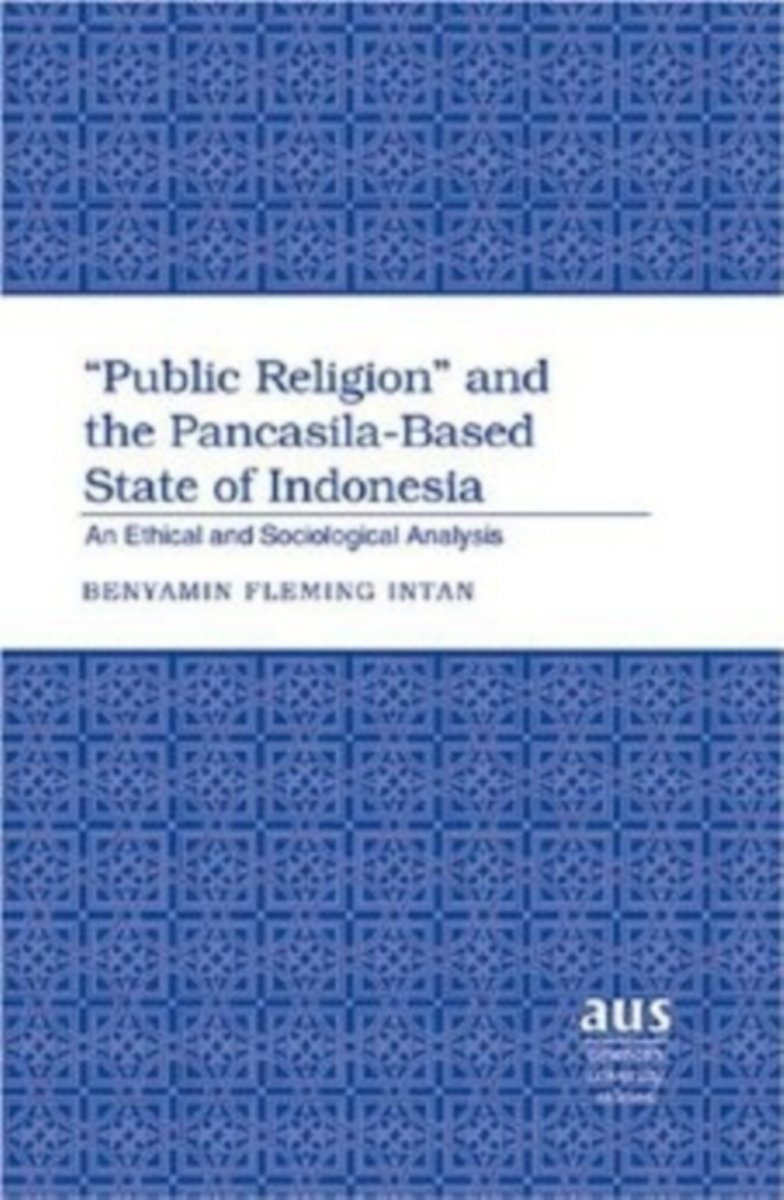 Public Religion and the Pancasila-based State of Indonesia