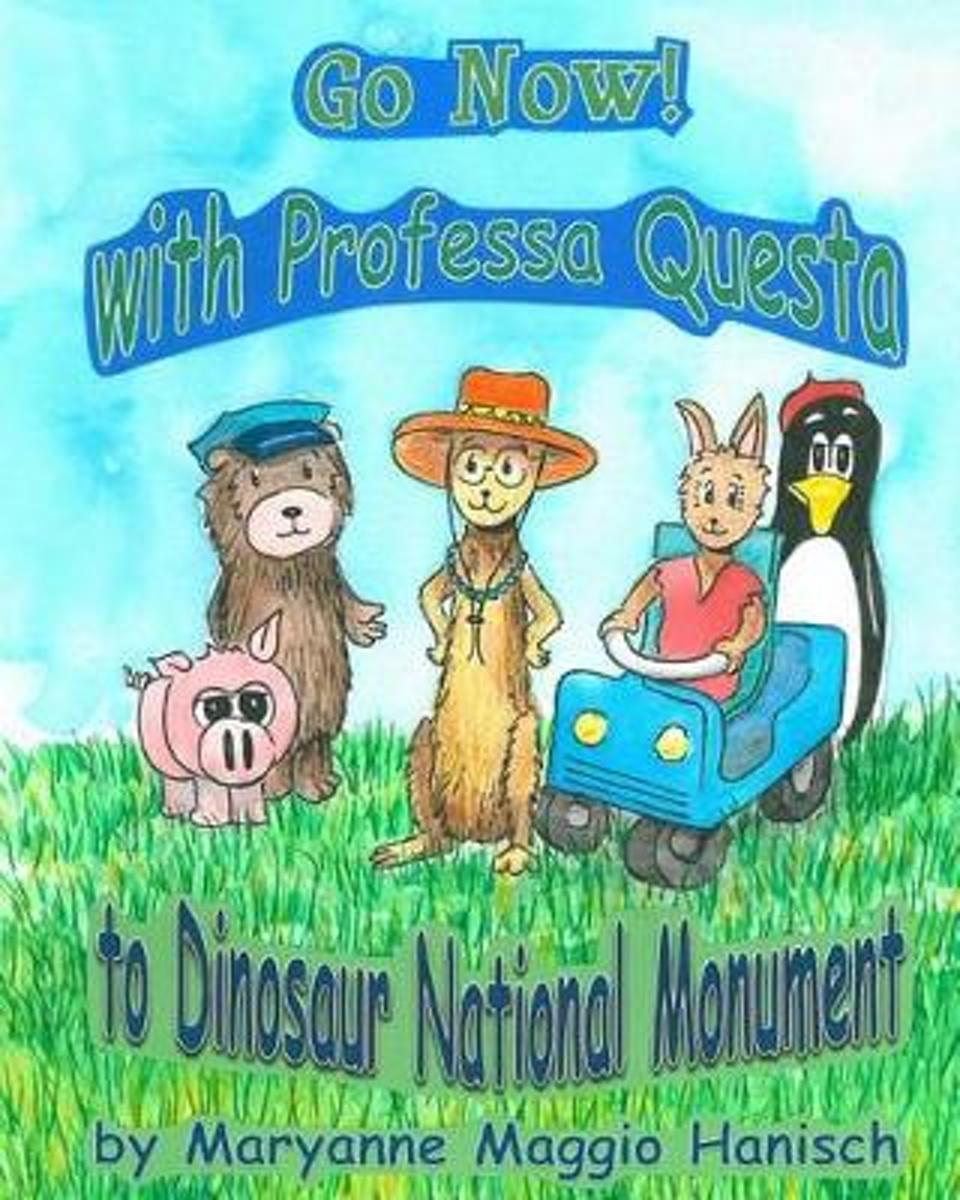 Go Now! with Professa Questa to Dinosaur National Monument