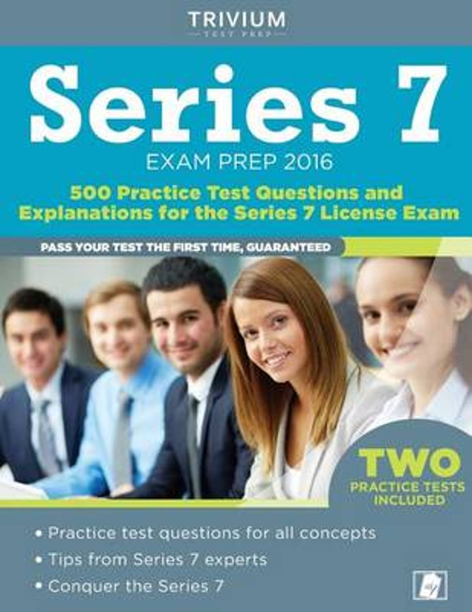 Series 7 Exam Prep 2016