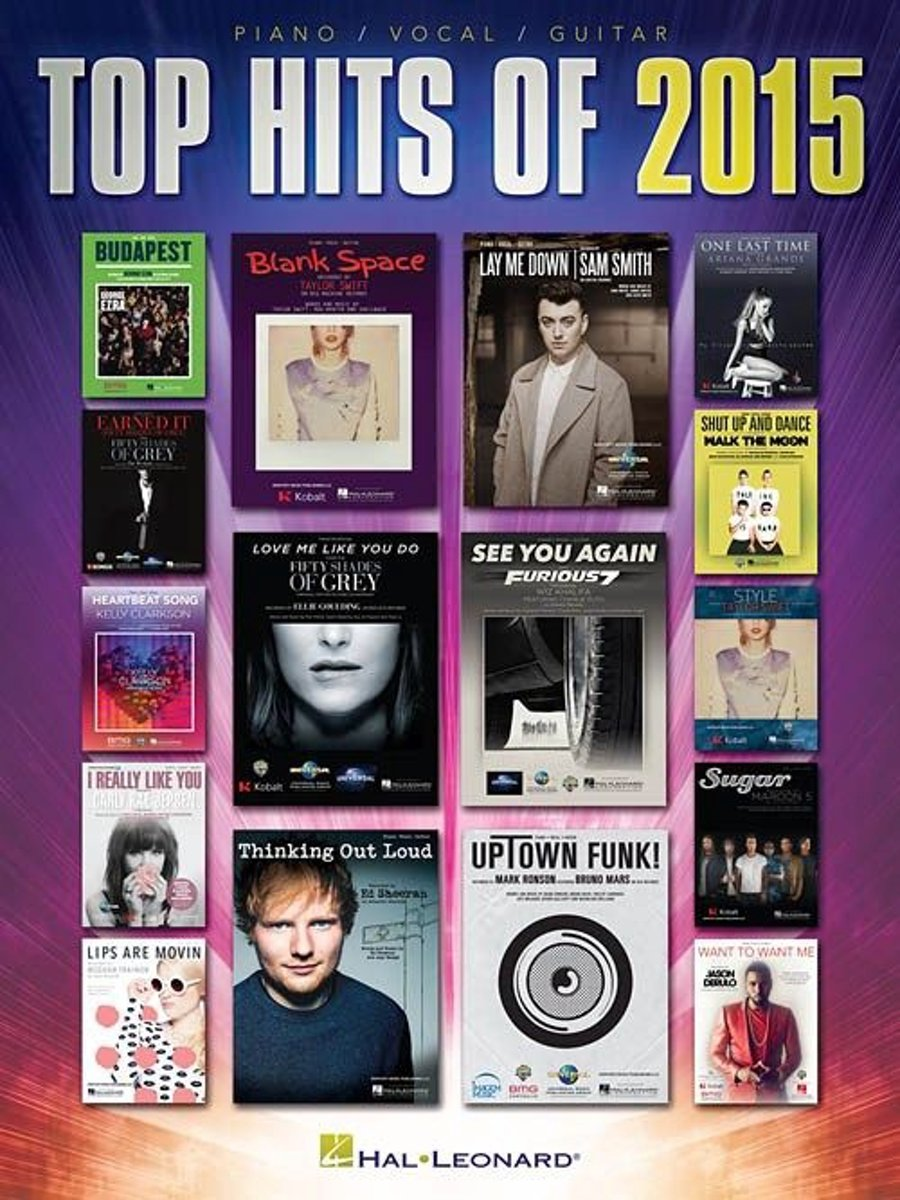 Top Hits Of 2015 (PVG)