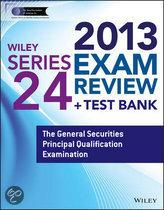 Wiley Series 24 Exam Review 2013 + Test Bank