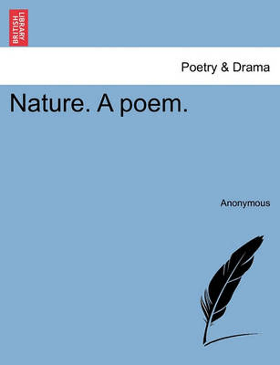 Nature. a Poem.