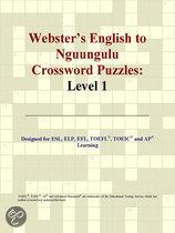 Webster's English to Nguungulu Crossword Puzzles