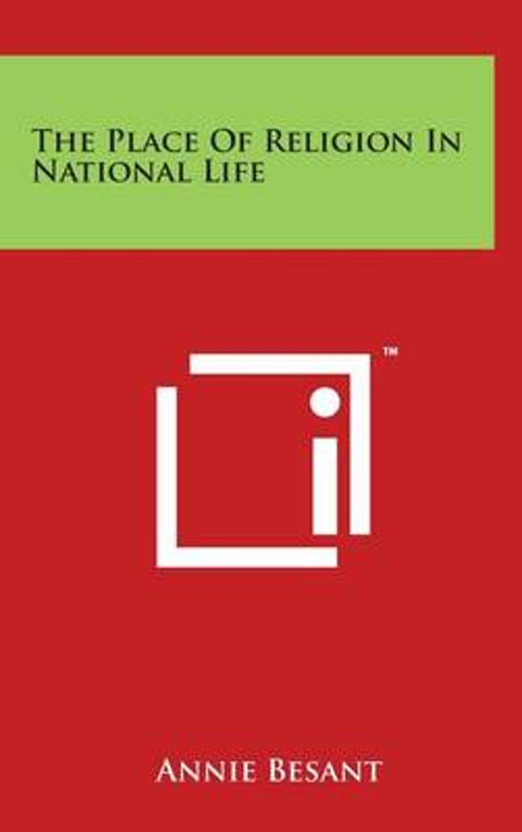 The Place of Religion in National Life