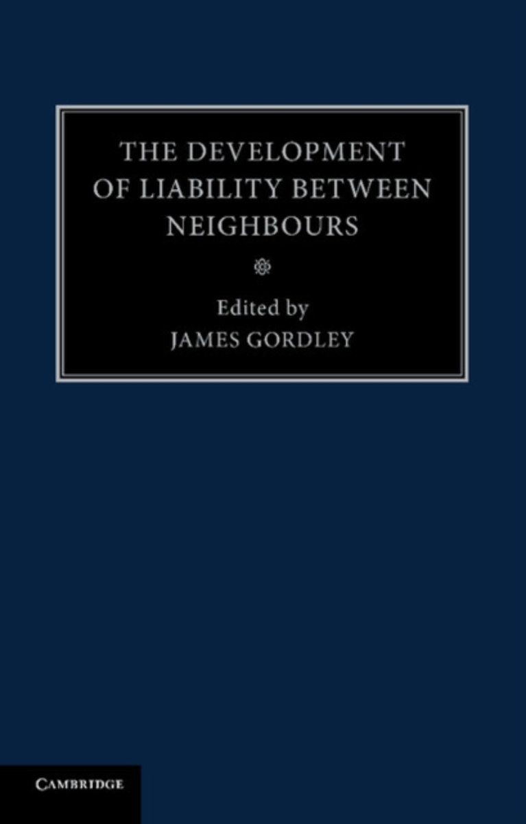 The Development of Liability between Neighbours