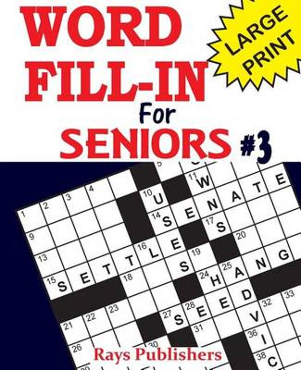 Word Fill-Ins for Seniors 3