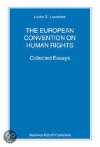 THE EUROPEAN CONVENTION ON HUMAN RIGHTS: COLLECTED ESSAYS