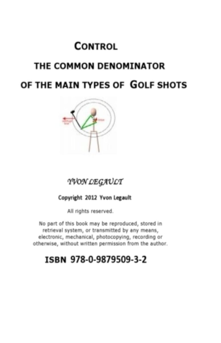 Control The Common Denominator Of The 5 Main Types Of Golf Shots