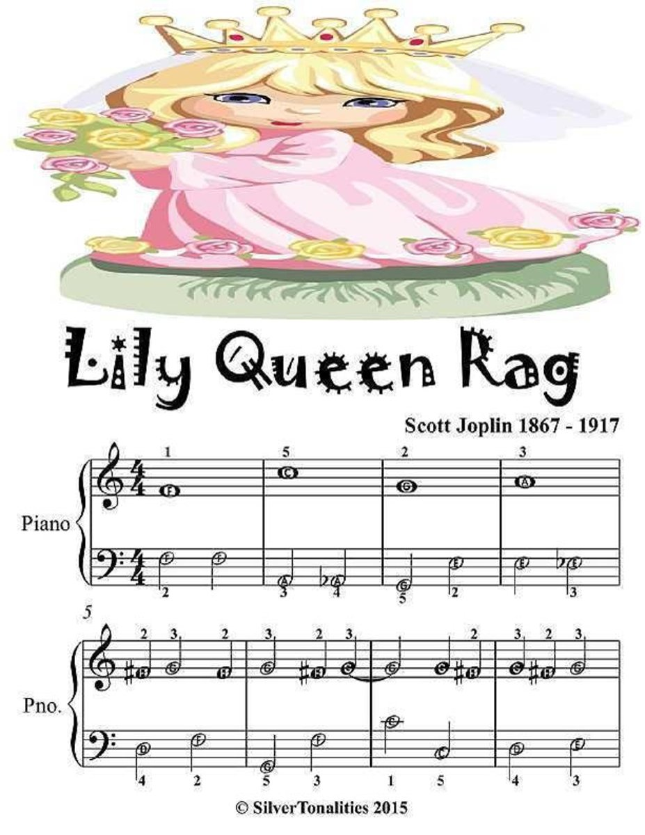 Lily Queen Rag - Easiest Piano Sheet Music Junior Edition