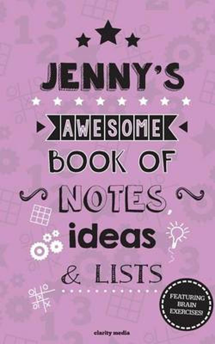 Jenny's Awesome Book of Notes, Lists & Ideas