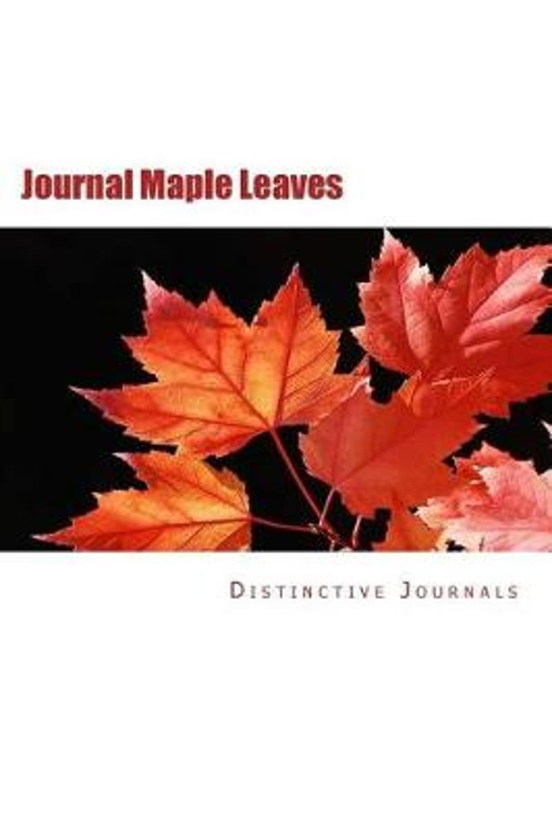 Journal Maple Leaves