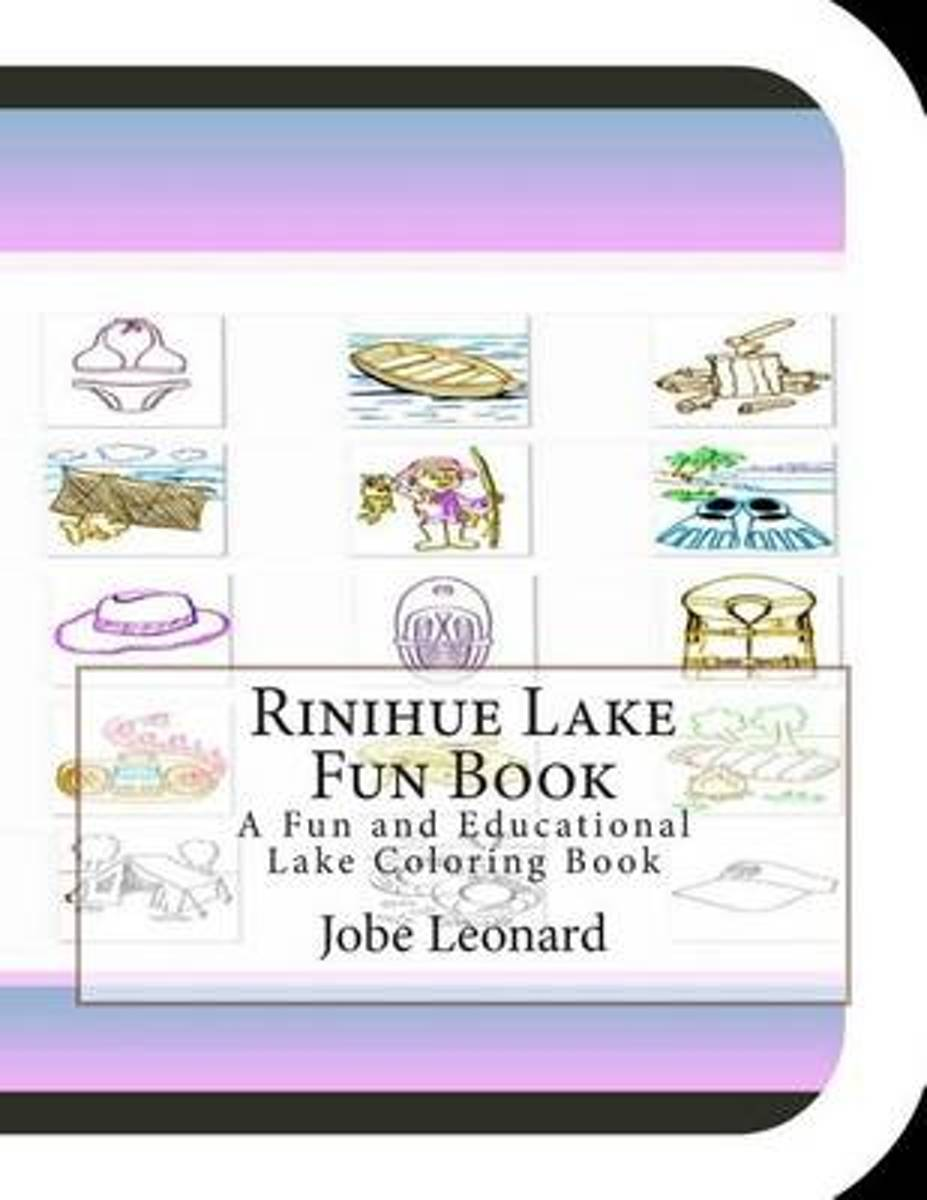Rinihue Lake Fun Book