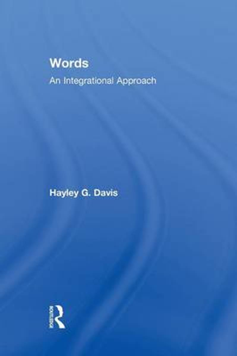 Words - An Integrational Approach